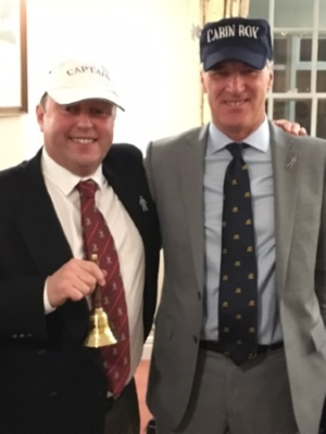 Photo - Captain's Handover Dinner 2017 - Mal and David