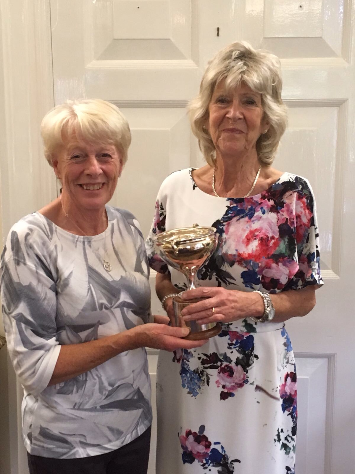 Ladies Past Captains Day Winner - 2017